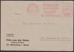 """WINTERBERG (WESTF)  AFS =DR 024= Aptiert Fritz Von Der Helm Trikotwarenfabrik """"Vandeha"""" - [7] Federal Republic"""