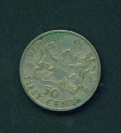 KENYA - 1966 50c Circulated - Kenya