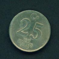 TURKEY - 2005 25k Circulated - Turquie