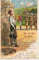 S37-MIL - AK - HEIL UND SIEG DEN BUREN ! Erschiessung Des Burenlieutenants CORDUA In Pretoria 24 August 1900 - Guerres - Autres