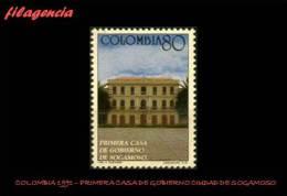 AMERICA. COLOMBIA MINT. 1991 PRIMERA CASA DE GOBIERNO DE LA CIUDAD DE SOGAMOSO - Colombia