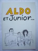 DOSSIER DE PRESSE aldo et junior 1984 - Aldo MACCIONE dessin Wolinski