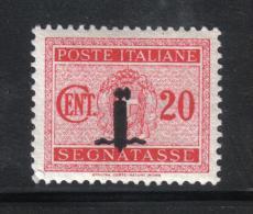 SS1038  - REPUBBLICA SOCIALE ,  Segnatasse Il N. 62 ***  MNH - 4. 1944-45 Social Republic
