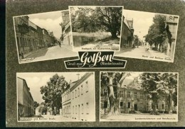 Golßen Niederlausitz MB Berufsschule Berliner Straße Ambulatorium Sw 31.8.1963 - Golssen