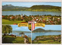 Weyregg Am Attersee , Mehrbildkarte - Attersee-Orte