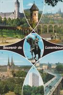 Luxemburgo-Catedral-Cisse D'Espargne-Tourelle Espagnole-Panorama - Luxemburgo - Ciudad