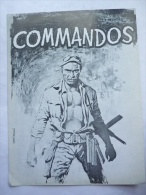 DOSSIER DE PRESSE Commandos - 1969 -  Lee Van Cleef - Pubblicitari