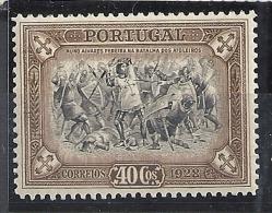 Portugal. 1928 3rd INDEPENDENCE 40c * SG 769 Mi 465 - 1910-... Republik