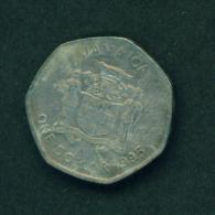 JAMAICA - 1995 $1 Circulated - Jamaica