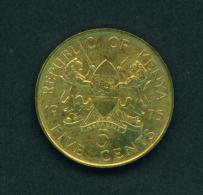 KENYA - 1975 5c Circulated - Kenya