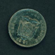 ECUADOR - 1991 10s Circulated - Kenya