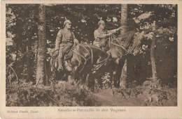 S43/MIL - Kriegs-Erinnerungs-Karte - Feldpost -  Kavallerie-Patrouille In Den Vogesen - Weltkrieg 1914-18