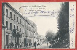 68 - MARKIRCH - SAINTE MARIE Aux MINES - Restauration Zu Den Vogesen - August DONATH - Feldpost - Sainte-Marie-aux-Mines
