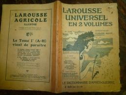 10 Fascicules Larousse Illustré Suivant De C Et Continuant Sur C...:Cathédrales,Cinémat Ographe,Coiffe,Coiffure, Etc.... - Woordenboeken