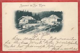 68 - Souvenir De Ste - Marie - COL De STE MARIE - Côte De St Dié - St. Diedler Höhe - Sainte-Marie-aux-Mines