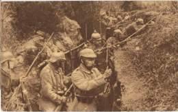 S54/MIL - AK In Vordesten Schützengraben - Guerre 1914-18