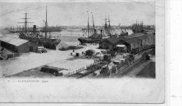 EGYPTE - ALEXANDRIE - Quai - Alexandria