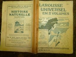 10 Fascicules Du Larousse Illustré Continuant F Et Commençant Sur H...:FUSILS, GENIE,GYMNASTIQUE,HABITAT ION  Etc - Woordenboeken