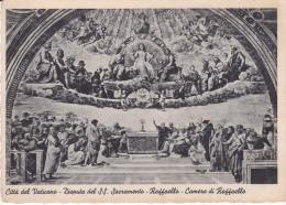 Vaticano--1950--Disputa Del SS.Sacramento--Raffaello--Camere Di Raffaello- - Vaticano (Ciudad Del)