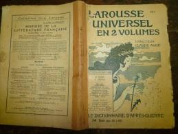 10 Fascicules Du Larousse Illustré Débutant  T Et Finissant Sur Z..:TAILLE Vigne,TELEGRAPHE, TELEPHONE,TIR,TISSAGE..et C - Dictionaries