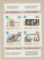 Penrhyn-1979 International Year Of The Child 20c Sheetlet MNH - Penrhyn