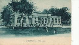 ( CPA ÉTATS UNIS )  COLOMBUS  /  OHIO  /  Public Library  - - Columbus