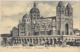 DIVERSES VUES DE MARSEILLE   CATHEDRALE - Joliette, Port Area
