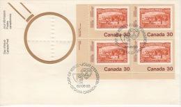 CANADA 1982 FDC SCOTT/UNITRADE 910 PB VALUE US $1.75 - 1981-1990
