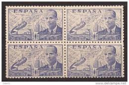 ES944-AB570TV.Spain Espagne.INGENIERO. JUAN DE LA CIERVA .AUTOGIRO.1941/7. (944**bl4) Sin Charnela MUY BONITO - Variedades & Curiosidades