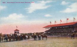 ( CPA ÉTATS UNIS )  CHEYENNE  /  WYOMING  /  Grand Stand, Frontier Park  - - Cheyenne