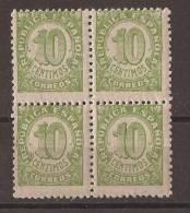 ES746-A733.España Spain Espagne.CIFRAS ( Ed 746 **BL4) 1938 ,sin Charnela. - 1931-50 Nuevos & Fijasellos