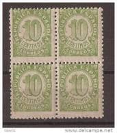 ES746-A733TV.España Spain Espagne.CIFRAS ( Ed 746 **BL4) 1938 ,sin Charnela. - Variedades & Curiosidades