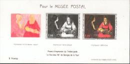 Feuillet Spécial - Au Profit Du Musée Postal - Ohne Zuordnung