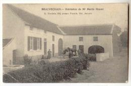 D 11035 - BEAUVECHAIN  -  Habitation De Mr Martin Houart   *oblitératiion Relais* - Beauvechain