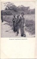 CONGO BELGE - GROUPE DE TRAVAILLEURS A LEOPOLDVILLE. - Kinshasa - Léopoldville