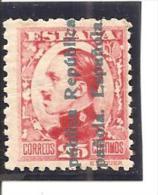 España/Spain-(MNH/**) - Edifil  598 - Yvert 491 (pliegue) - 1931-50 Nuevos & Fijasellos