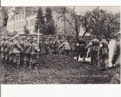 SAINT-BENOIT (Meuse) MILITAIRE ALLEMAND-GUERRE 1914-1918-FRIEDHOF-CIMETIERE-Soldatenbegräbnis In Feindesland - Cimiteri Militari