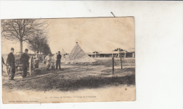 Camp De Chalons La Forge De Campagne Soldats - Camp De Châlons - Mourmelon