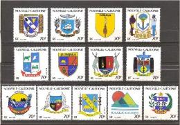NOUVELLE CALEDONIE - 1993 - N°641 à 653 Neuf** - 13 Valeurs - Neukaledonien