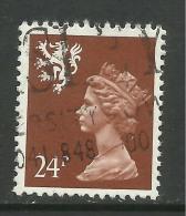 SCOTLAND GB 1992 24p Chestnut Machin Pf 14 SG S70a.( E552 ) - Regional Issues