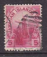 HAWAII: 1894, 5 Cents Red, Used - Hawaii