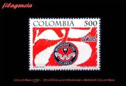 AMERICA. COLOMBIA MINT. 1998 75 AÑOS DE LA UNIVERSIDAD LIBRE DE COLOMBIA - Colombia