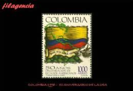 AMERICA. COLOMBIA MINT. 1998 CINCUENTENARIO DE LA ORGANIZACIÓN DE ESTADOS AMERICANOS - Colombia