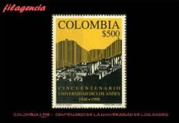 AMERICA. COLOMBIA MINT. 1998 CINCUENTENARIO DE LA UNIVERSIDAD DE LOS ANDES - Colombia