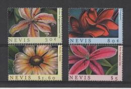 Nevis (2000) Yv. 1445/48  /  Fleurs - Flowers - Flores - Flora - Fiori - Blumen - Planten