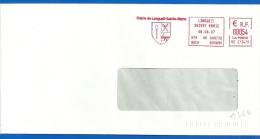 Mairie - EMA (1364) 60 LONGUEIL SAINTE MARIE - 06 06 2007 - Marcophilie (Lettres)