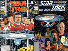 DC Comics Star Trek TOS/TNG 1989-1992, 62-book Collection [Free Shipping] - Books, Magazines, Comics