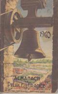 C1 1940 DROLE DE GUERRE Almanach Du Peuple De France 1940 ACTION POPULAIRE - French