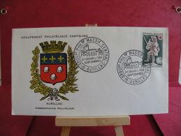 FDC, Groupement Philatélique Cantalien - 15 Auriliac - 27/28.4.1968 - 1er Jour - - FDC