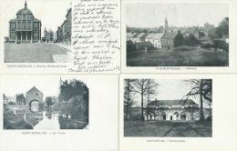 Saint-Ghislain - 4 Cartes - Editeur VED -Précurseur - Saint-Ghislain